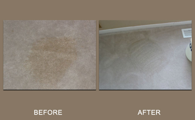 Coffee Spill Removed From Carpet Modesto CA