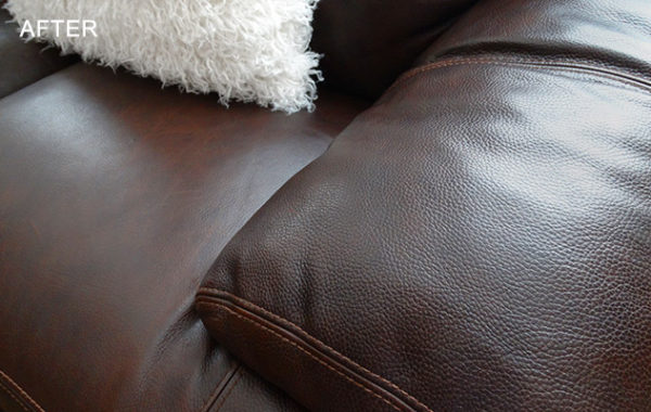 Leather Furniture Cleaned and Rejuvenated